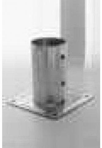 menuiserie bertin pied de poteau fixe pour poteaux rond 141 sur menuiserie bertin. Black Bedroom Furniture Sets. Home Design Ideas