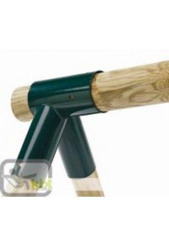 Menuiserie bertin angle acier droit ou oblique rond - Pied bois oblique ...
