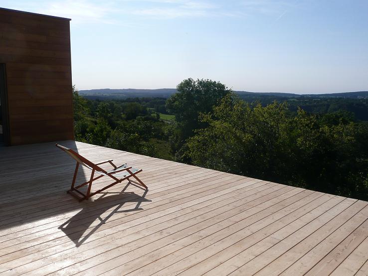 traitement terrasse bois meleze diverses id es de conception de patio en bois. Black Bedroom Furniture Sets. Home Design Ideas