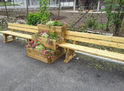 jardin végétal 3 niveaux