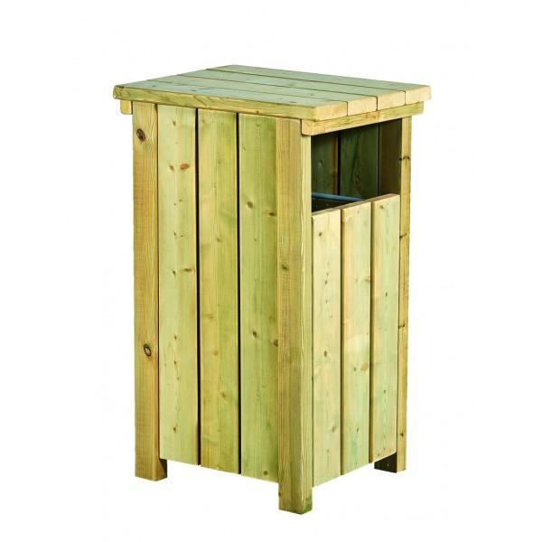 poubelle pin autoclave rectangulaire 80 litres. Black Bedroom Furniture Sets. Home Design Ideas