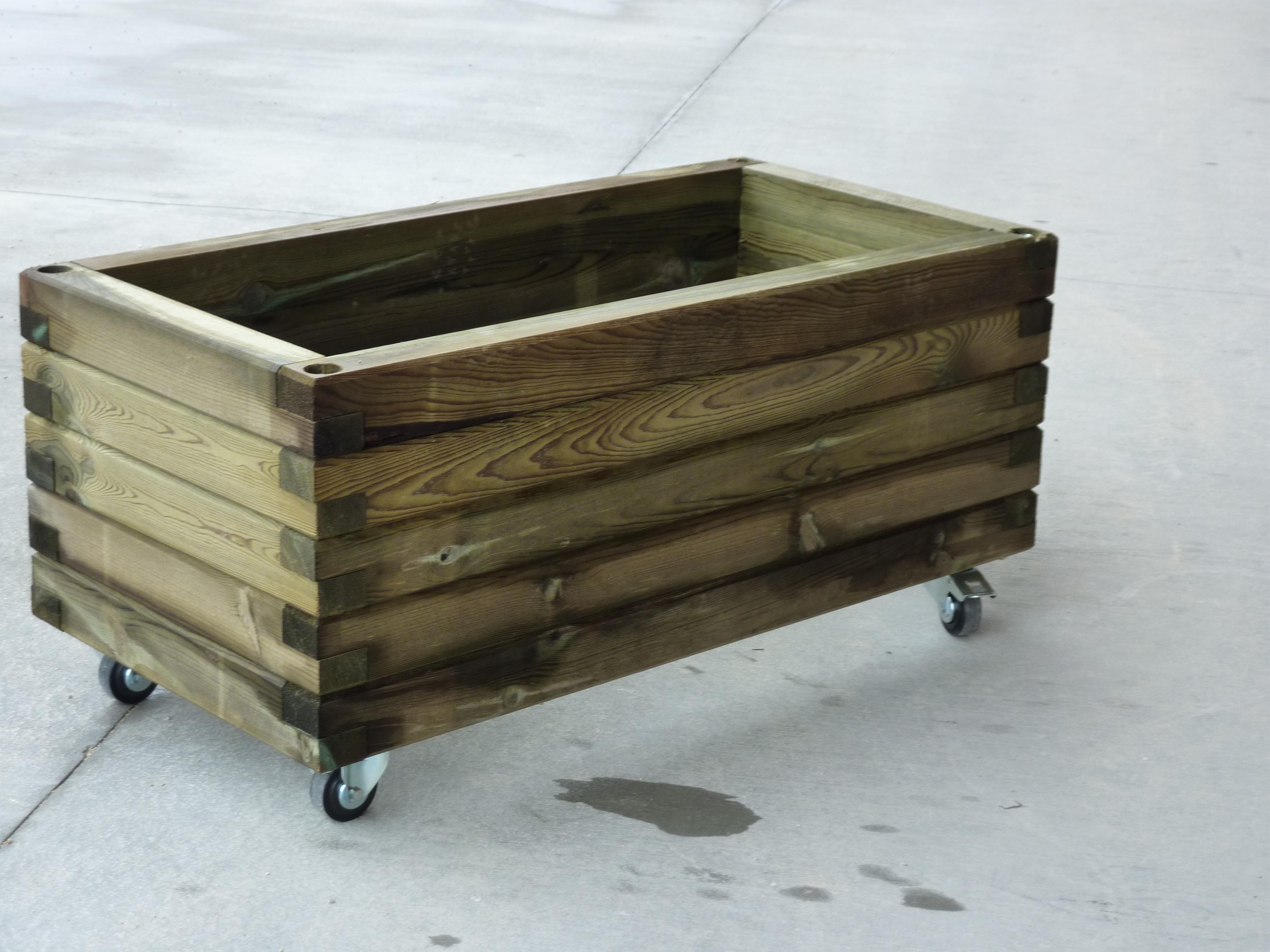 jardini re mibois autoclave 120x60x53 menuiserie bertin. Black Bedroom Furniture Sets. Home Design Ideas