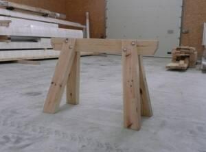 Tréteau de charpentier 120cm