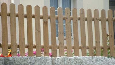 cl ture bois planchette 60cm avec tasseaux et poteaux menuiserie bertin. Black Bedroom Furniture Sets. Home Design Ideas