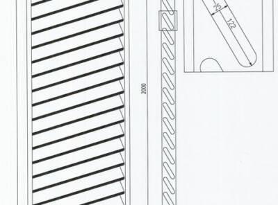 Mur pare vue persienne au m²