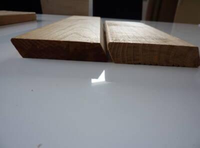 Platelage Acacia profil plat 22×120
