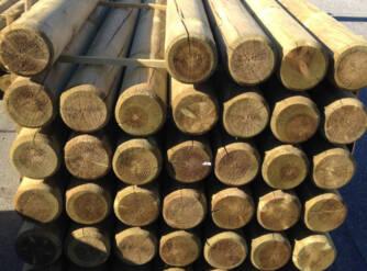 rondins en bois
