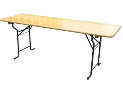 table brasserie pliante