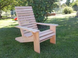 fauteuil canadien en douglas