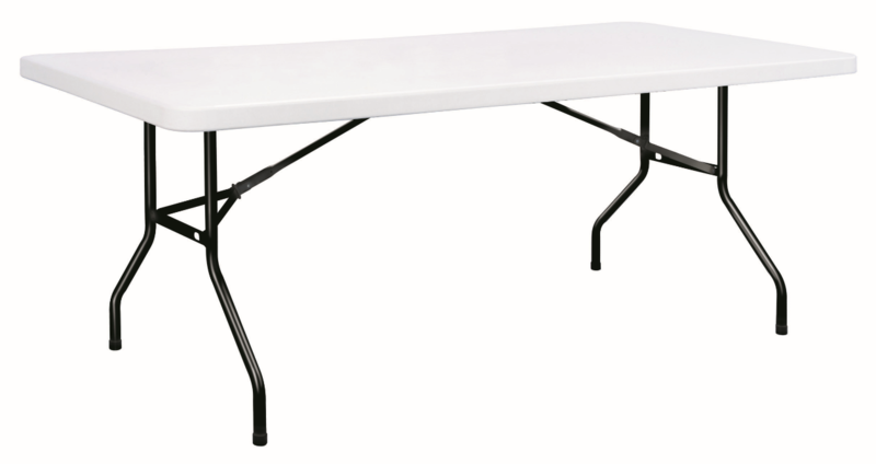 Table de brasserie pliante plateau plastique menuiserie - Table brasserie pliante occasion ...
