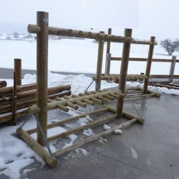 L'hiver vient ! utile le porte skis!
