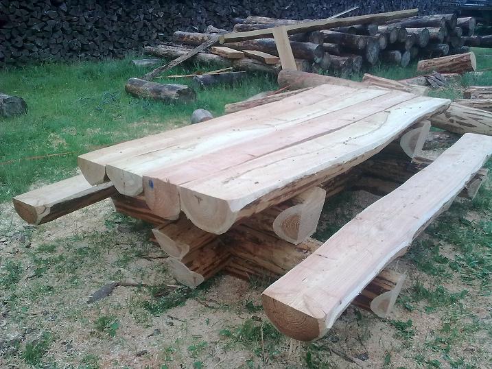 Ensemble forestier menuiserie bertin for Table exterieur 2m60