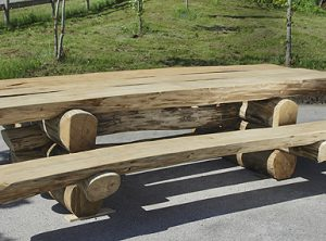 table rustique acacia