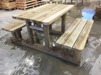 Table et banc picnic 1m70