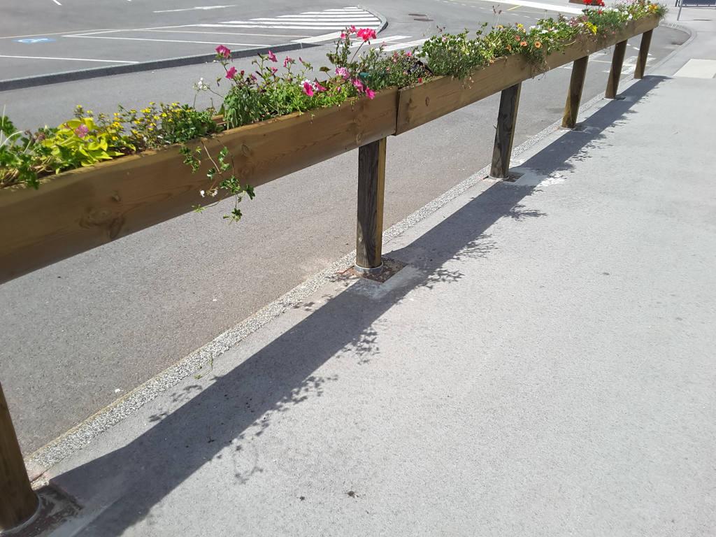 jardiniere longue